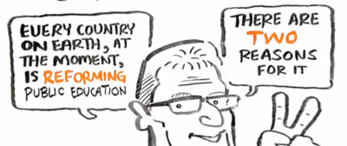 Видео. Кен Робинсон. О смене парадигмы образования