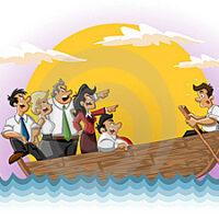 Игра «В одной лодке к острову Счастья »